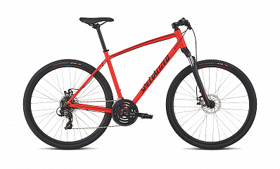 Crosstrail Mech Disc INT (Rocker Red/Lime/Black)